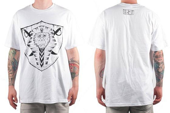 BSD 'Raider' Shirt, schwarz oder weiß, m-xl, 27,95 €