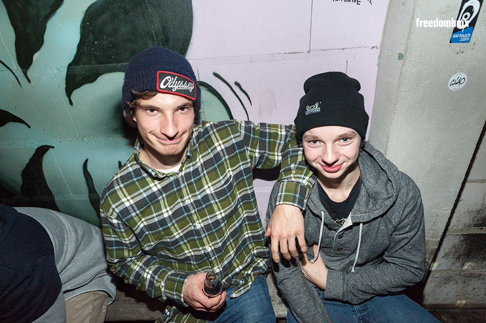 freedombmx Bangers & Rider of the Year 2014 Partypics