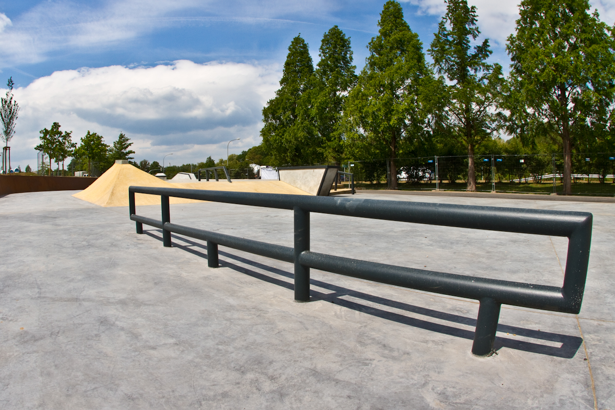 skatepark wolfsburg flatrail