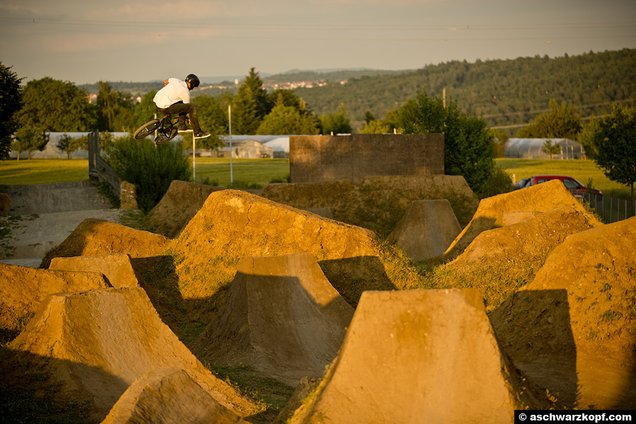 Gregor Podlesny. Downside Whip Aichwald Trails