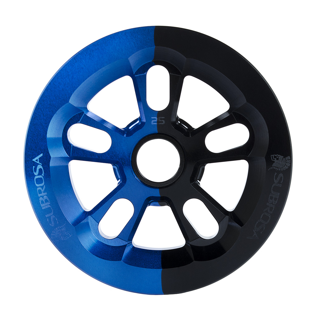 Das Subrosa Magnum Bash Sporcket in Blue Black Fade
