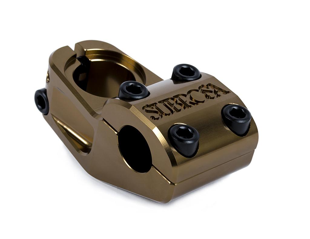 Der Subrosa High Life Uploader bringt deinen Lenker in schwindelerregende Höhen. Vorlauf: 50 mm, Gewicht: 312 g. Farbe: 3rd Place Bronze