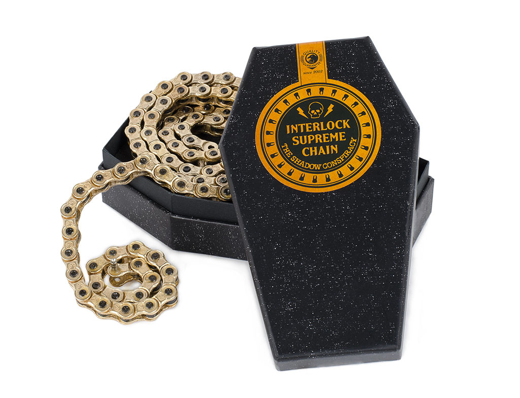 The Shadow Conspiracy Interlock Supreme Chain gold
