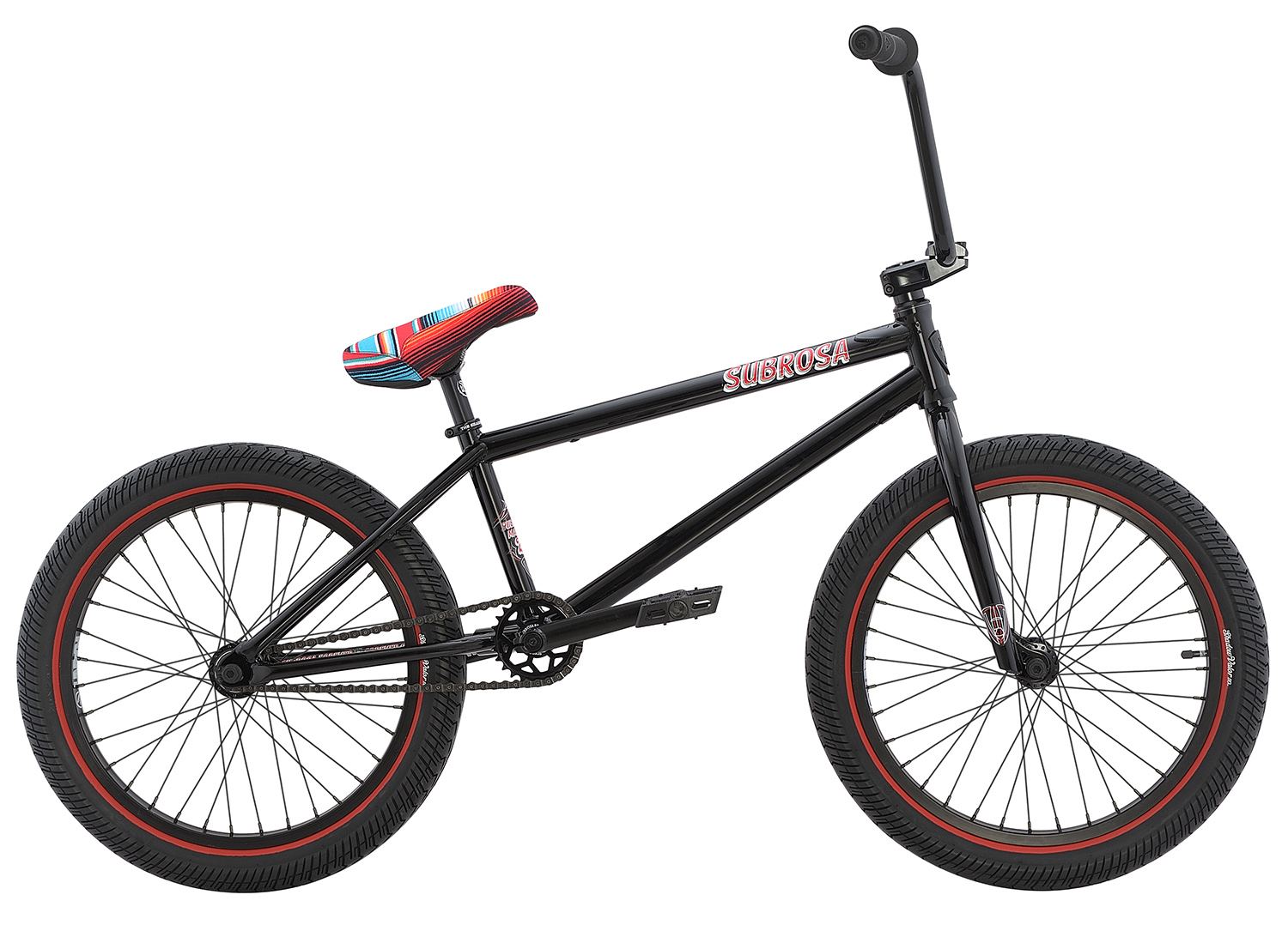 Subrosa BMX Rad Malum 2016 Hot Rod Rust