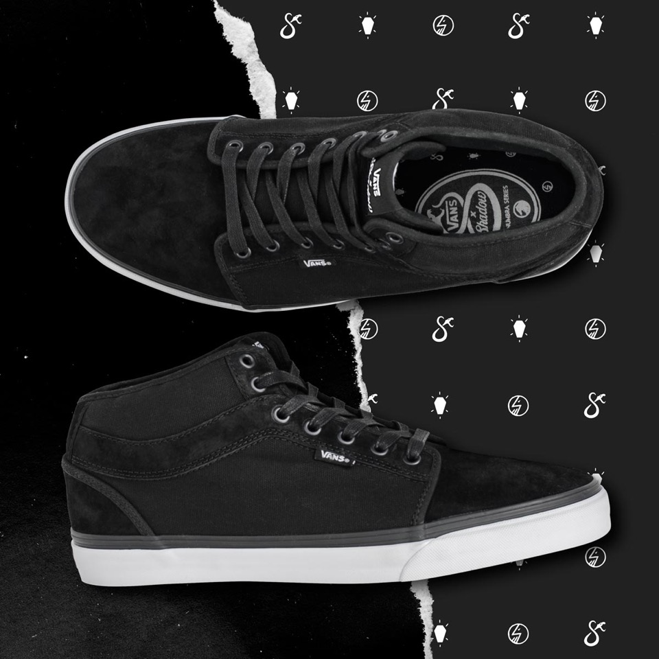 Vans X The Shadow Conspiracy Chukka Midtop Palladium Pattern