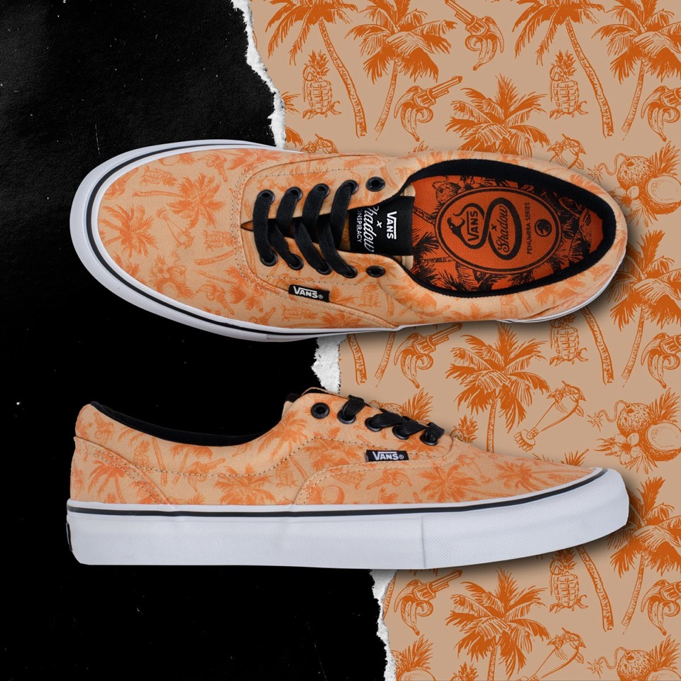 Vans X The Shadow Conspiracy Era Pro Human Nature Pattern