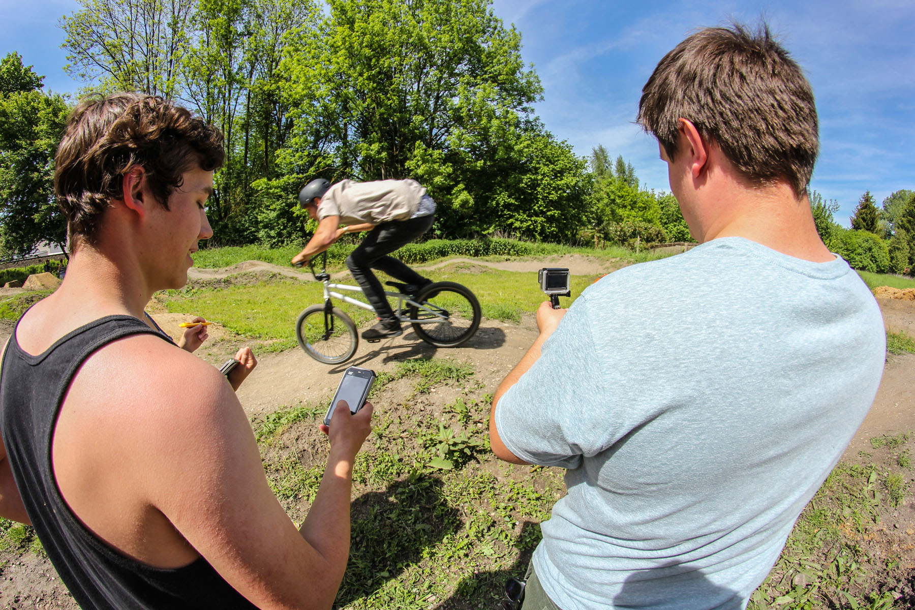 Pumptrackrace auf den Barons of Trails 2016 in Freising