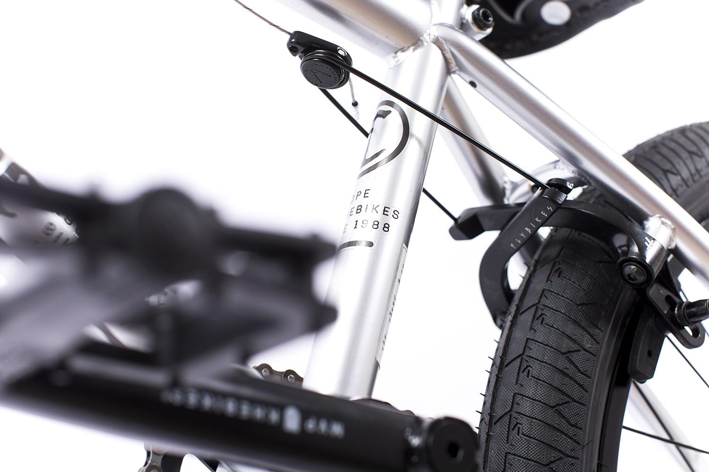 Eine bessere Bremse als die Springhanger-U-Brake von Flybikes dürfte nur schwer zu finden sein
