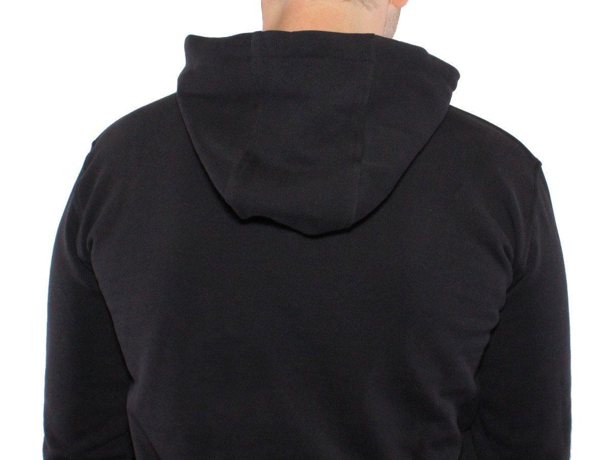 Kapuze des kunstform BMX Team Hoodys in schwarz
