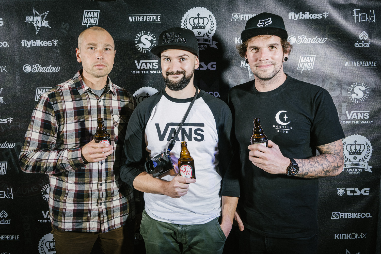 Tilo, Michael Förster und Max Henning, der übrigens den Best-Trick-Contest am Nachmittag moderierte. Vielen Dank dafür!