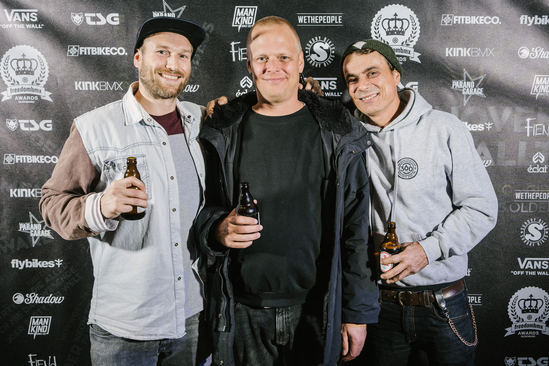 Björn Heyer, Thomas Stellwag und irgend so 'nen Typ, der irgendwas mit Medien macht