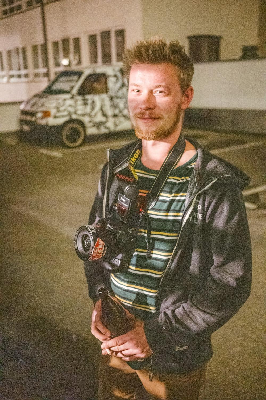 @lennardsworld aka Lennart Schuler kam voll equiped aus Aachen angereist