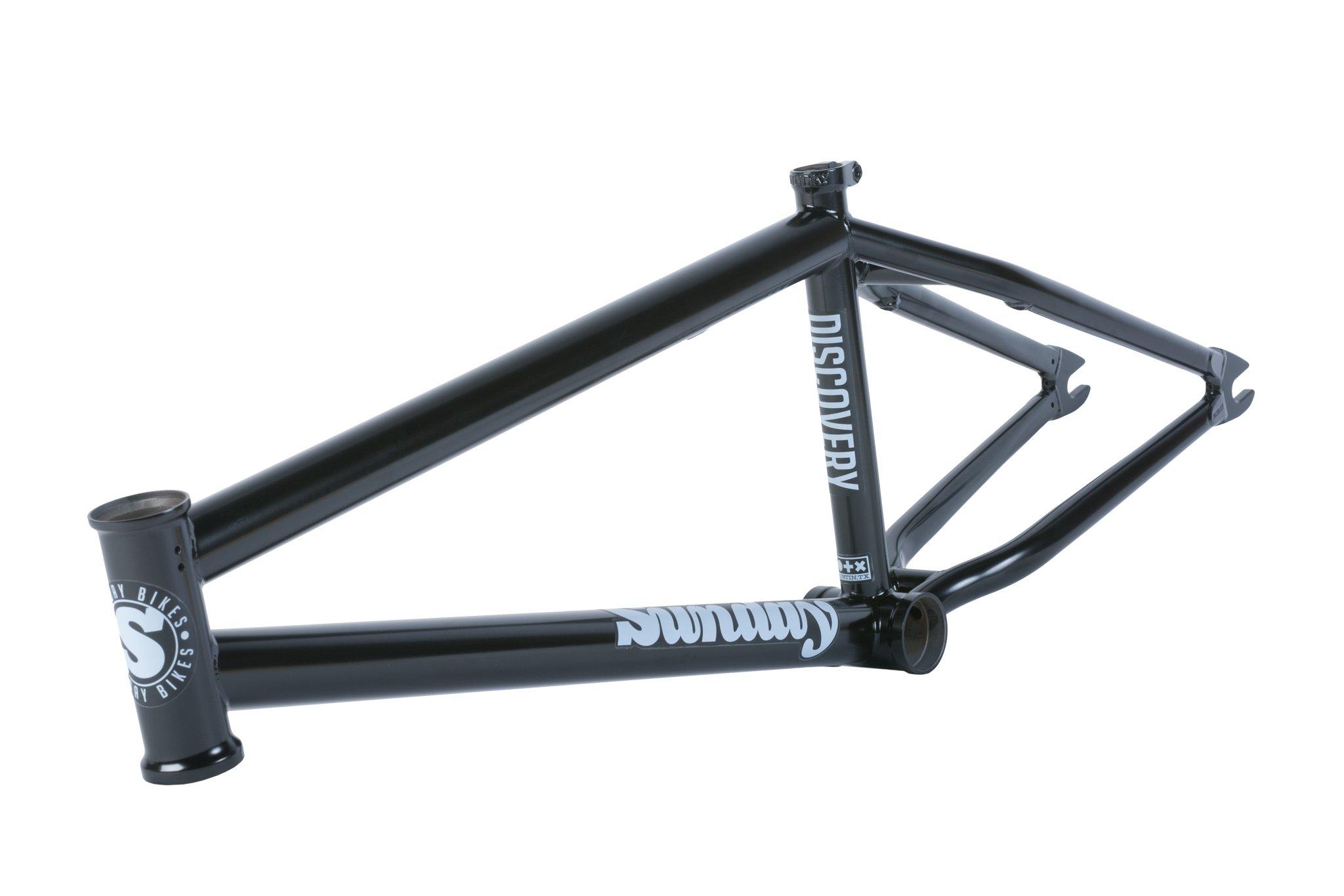 Sunday Bikes Discovery Frame in matt schwarz