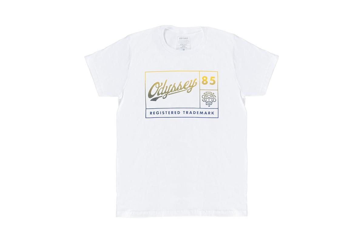 Für das Framed-Shirt hat man bei Odyssey das Firmenlogo aus den 1980er Jahren neu interpretiert