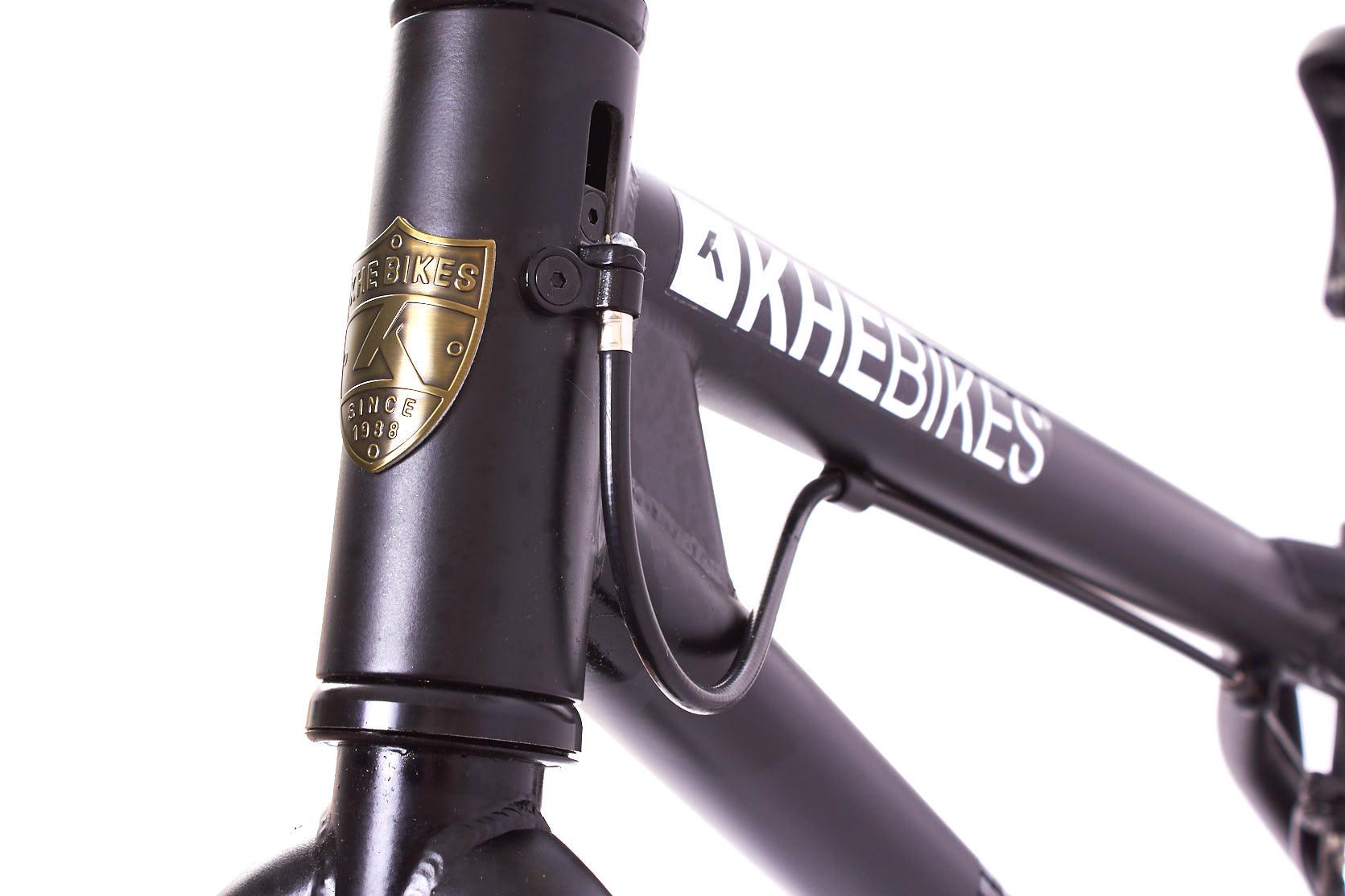Wie auch an allen anderen Kompletträdern von KHEbikes, die mit einem Rotor ausgestattet sind, wurde am Catweazle natürlich das patentierte Affix-Rotorsystem verbaut