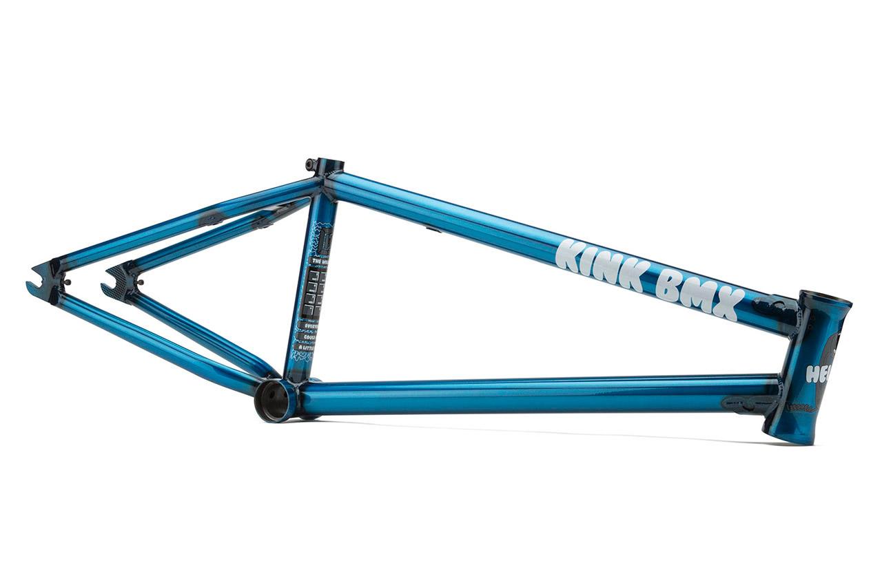 Kink BMX Nathan Williams Frame in blau