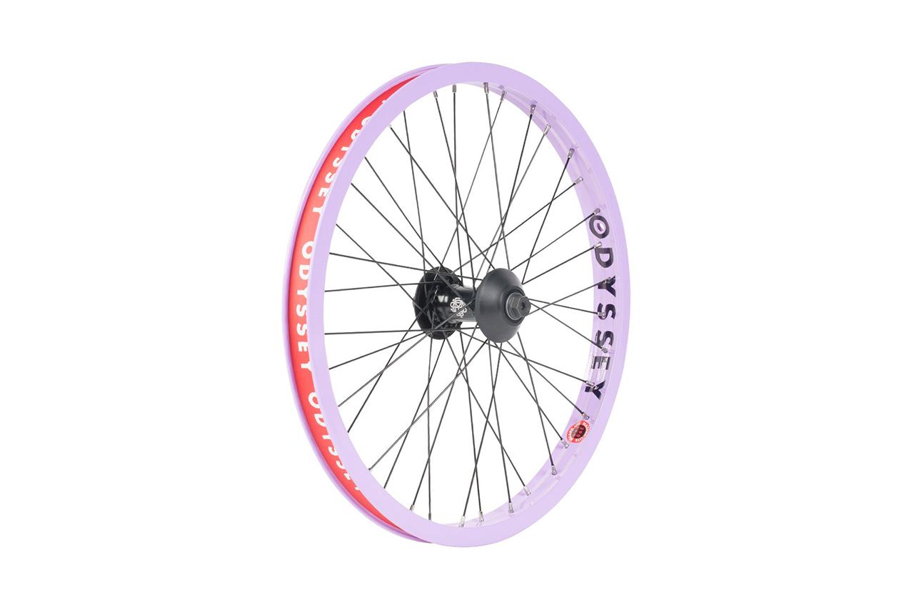 Odyssey BMX Hazard Lite Front Wheel mit der neuen Vandero Pro Vorderradnabe