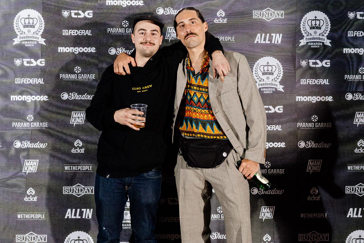 Die Bader Brothers Fabian (links) und Jonas
