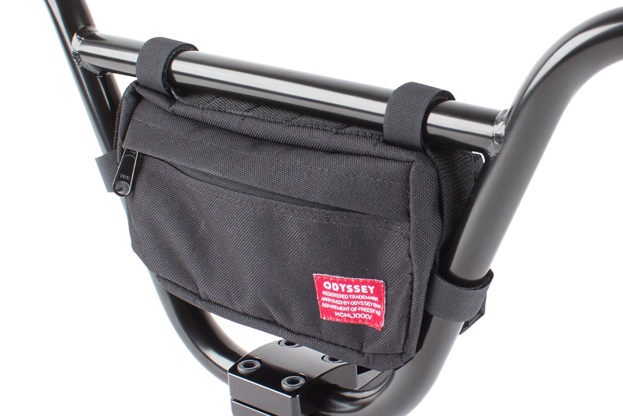 Das neue Swtich Pack von Odyssey für Lenker, Rahmen oder als Tasche am Körper