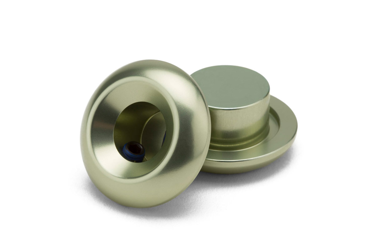 Die Lightest Barends von Kink BMX gehören zu den schicksten Aluminiumlenkerenden, die es auf dem Markt gibt. Sie wiegen knapp 23 g und sind jetzt ebenfalls in Matte Pale Mint erhältlich