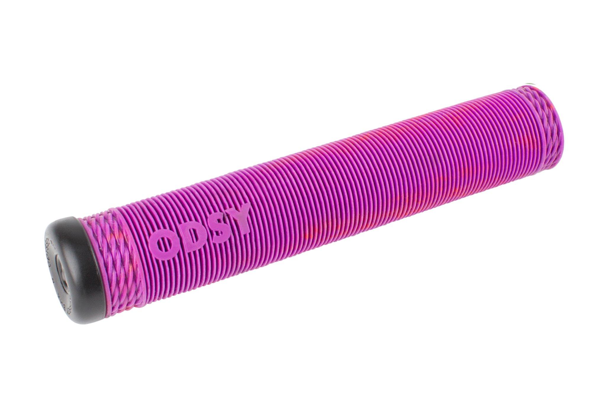 Odyssey BMX Broc Raiford Grip in Purple/Red Swirl