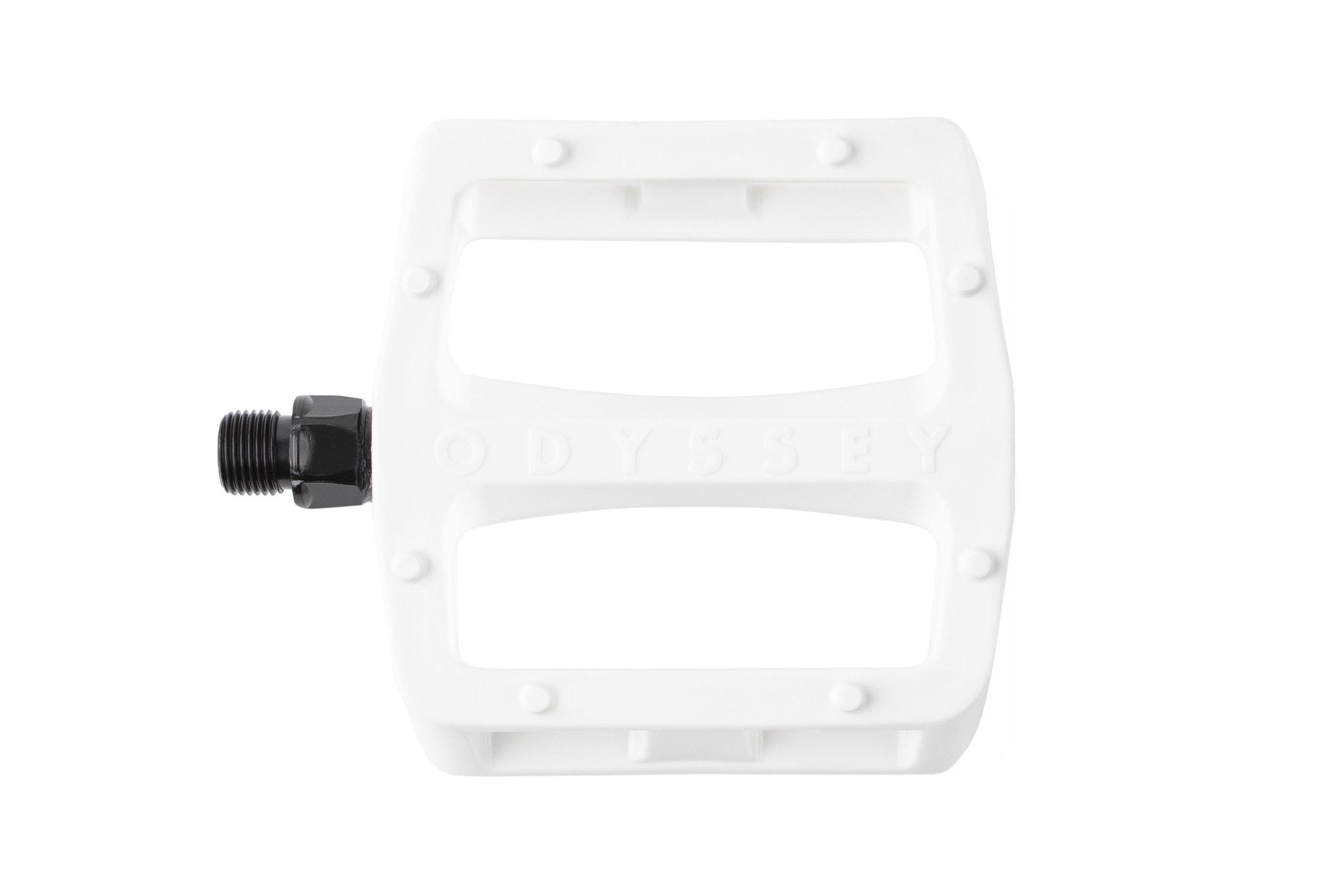 Odyssey BMX Grandstand V2 PC Pedals in weiß