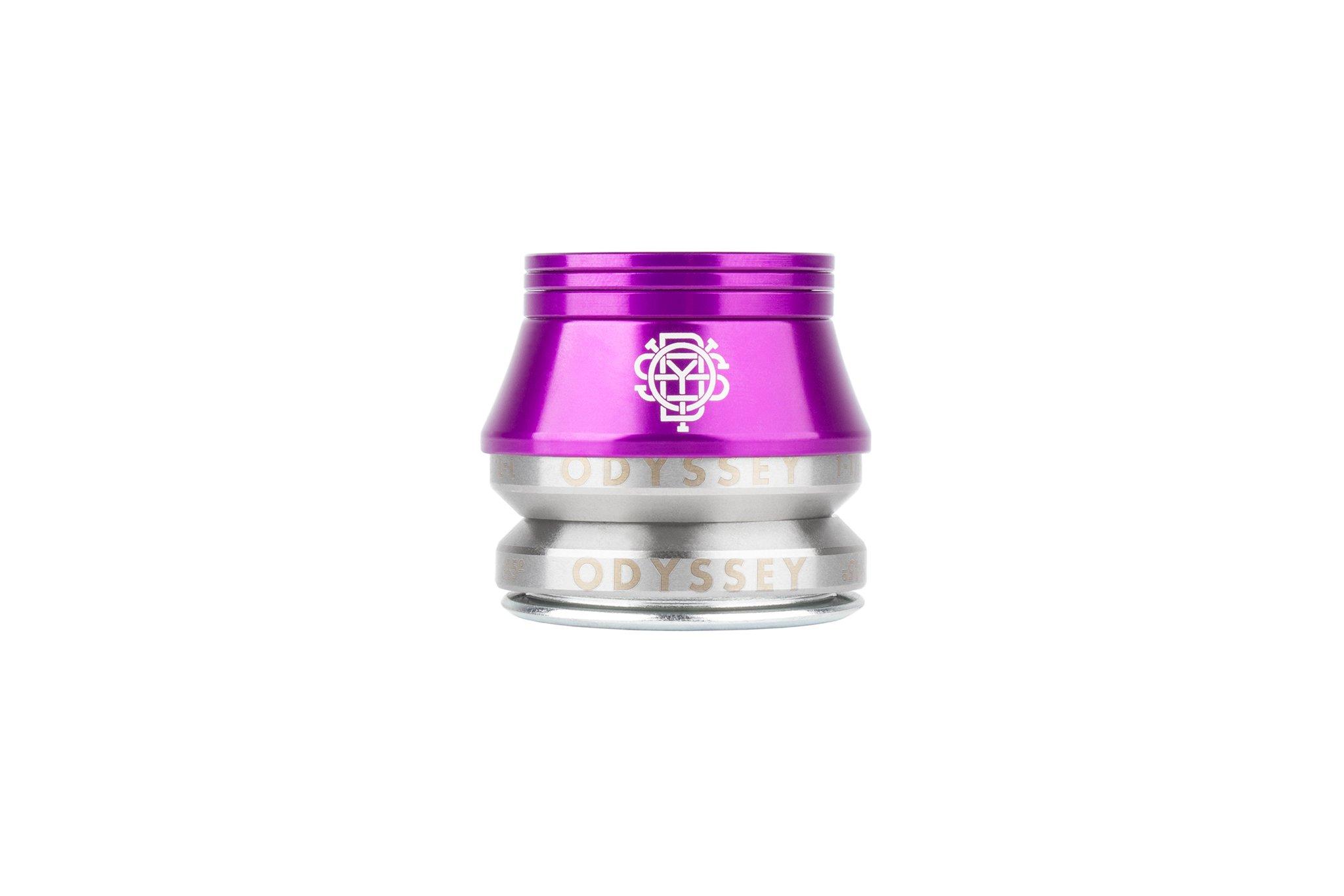 NEU: Odyssey BMX Pro Conical Headset in Anodized Purple