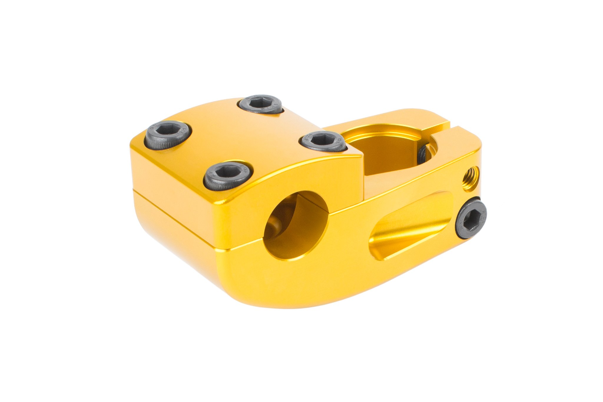 Odyssey BMX Broc V2 Topload Stem in Anodized Gold (Broc Raiford Signature)