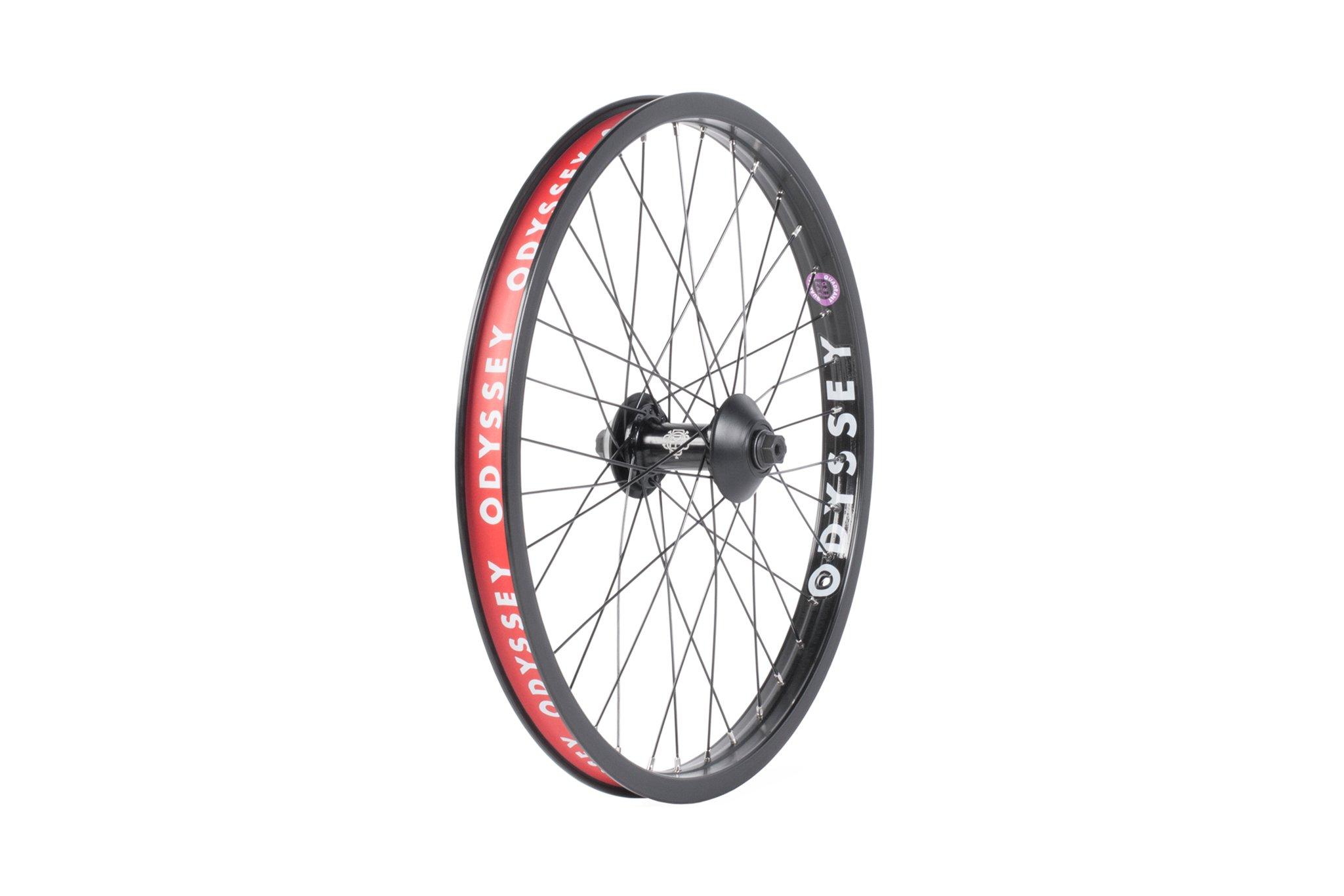 Odyssey BMX Quadrant Front Wheel in schwarz