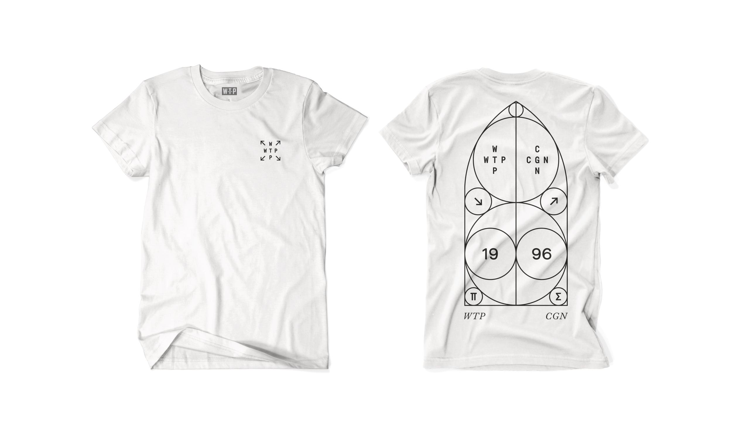 Wethepeople BMX Architect Bullet T-Shirt in weiß