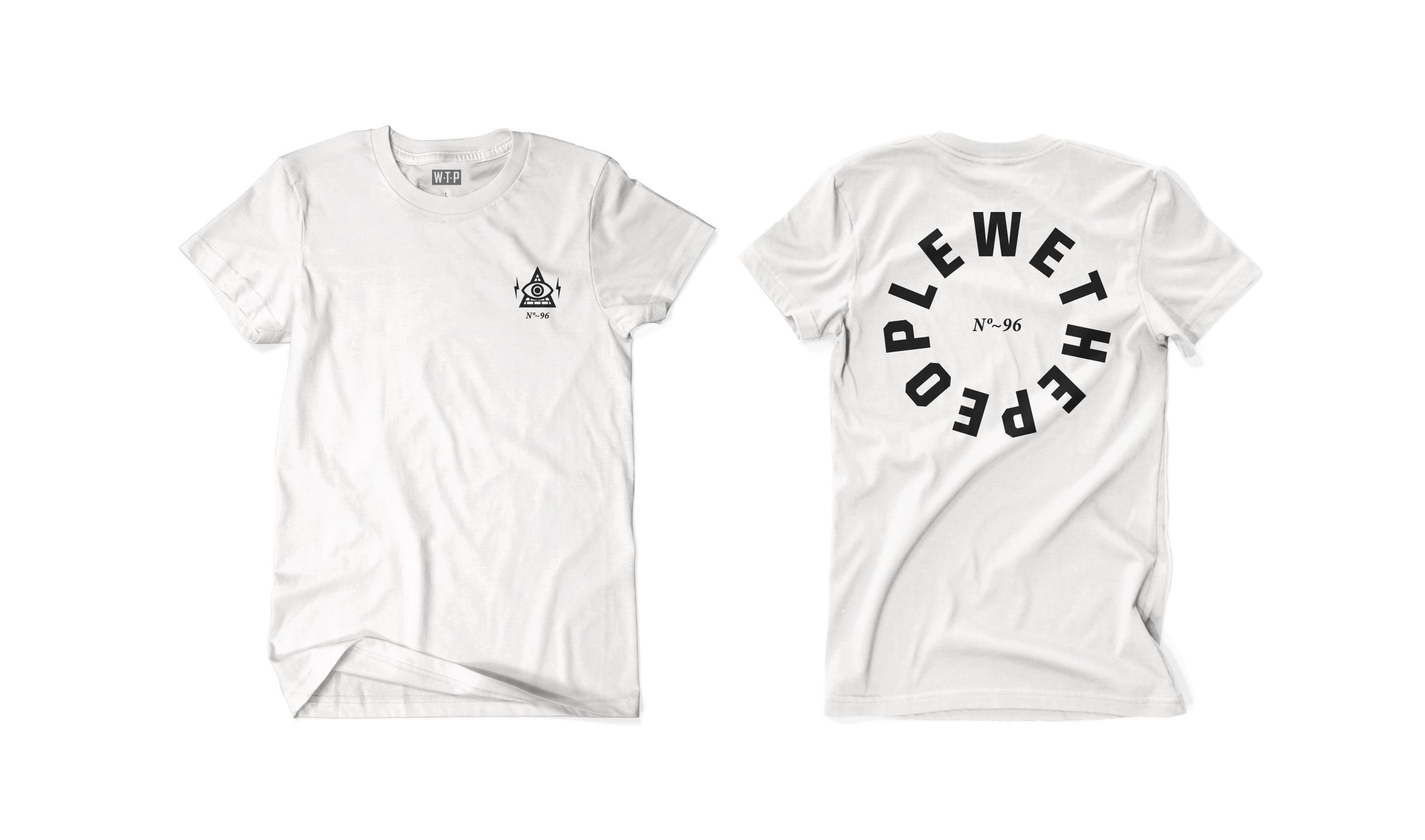 Wethepeople BMX Illuminati T-Shirt in weiß