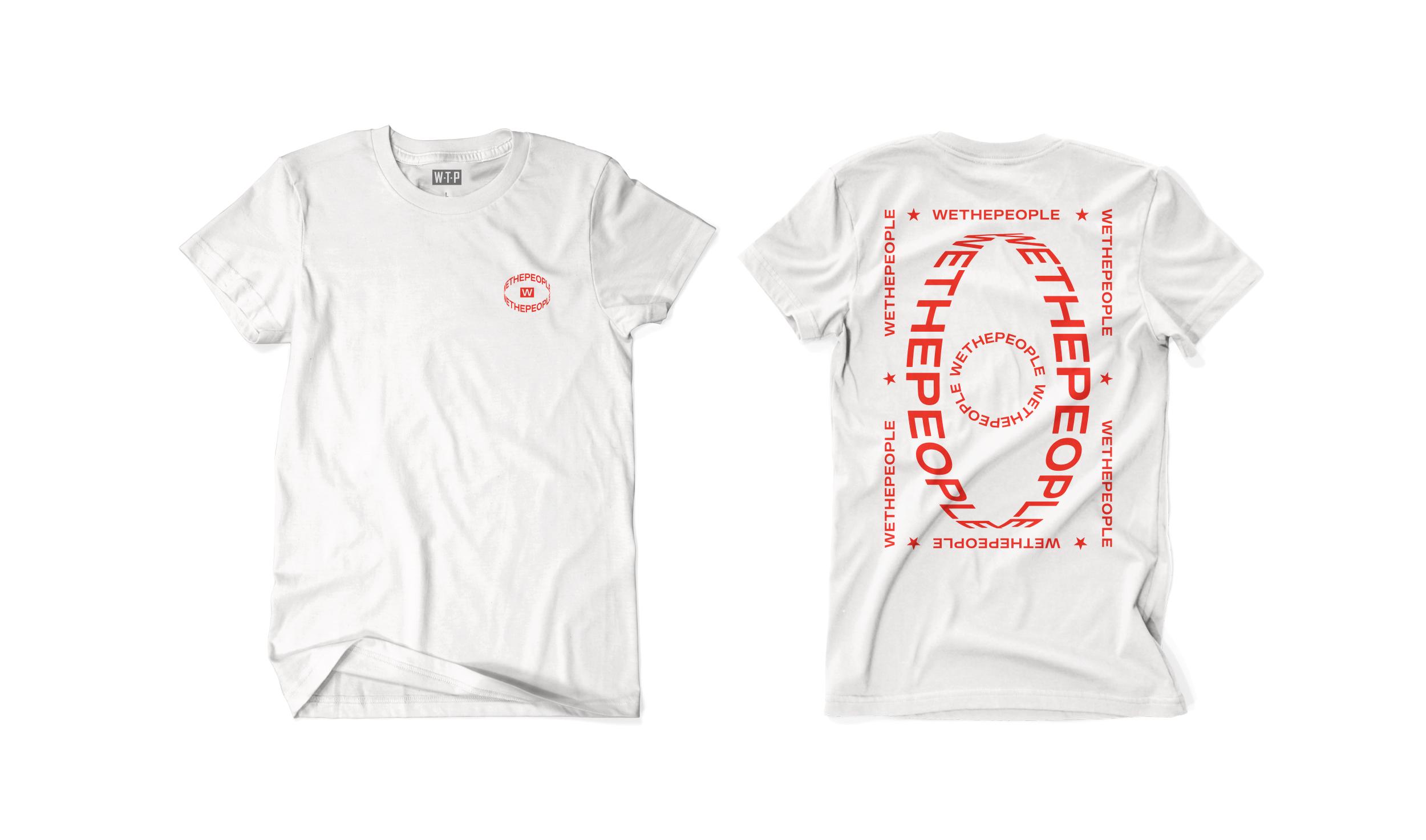 Wethepeople BMX Saturn T-Shirt in weiß