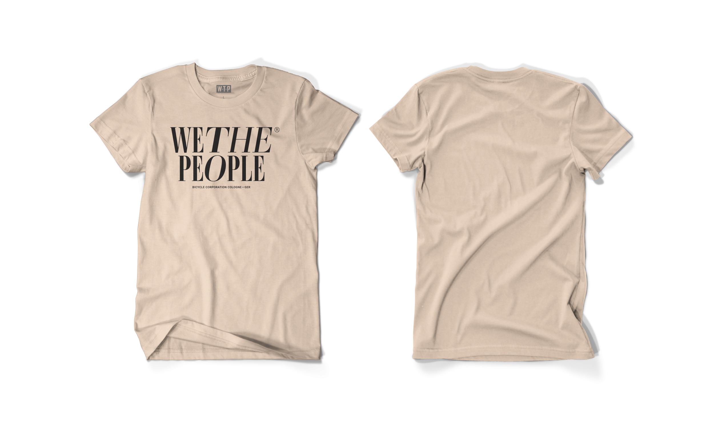 Wethepeople BMX Series T-Shirt in beige