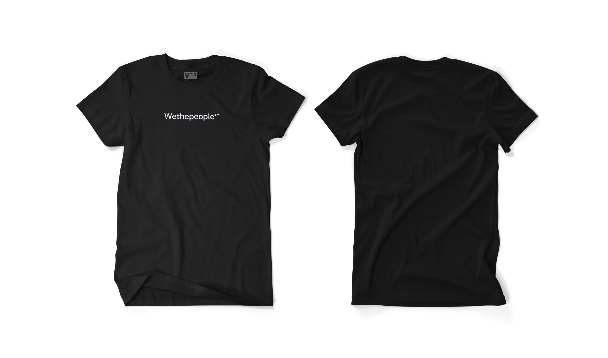 Wethepeople BMX Embroidery T-Shirt in schwarz