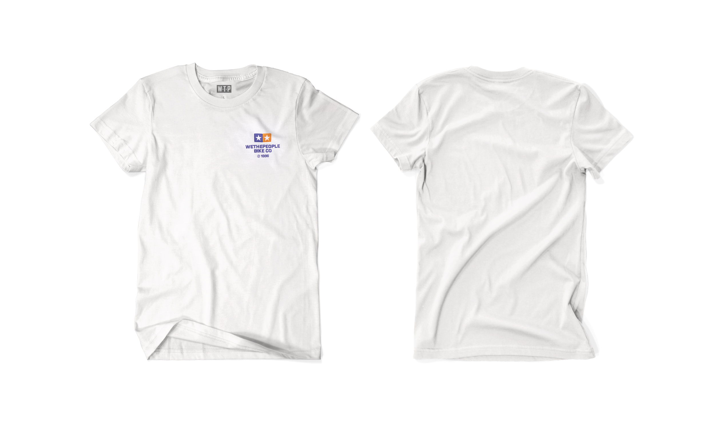 Wethepeople BMX Worldwide T-Shirt in weiß