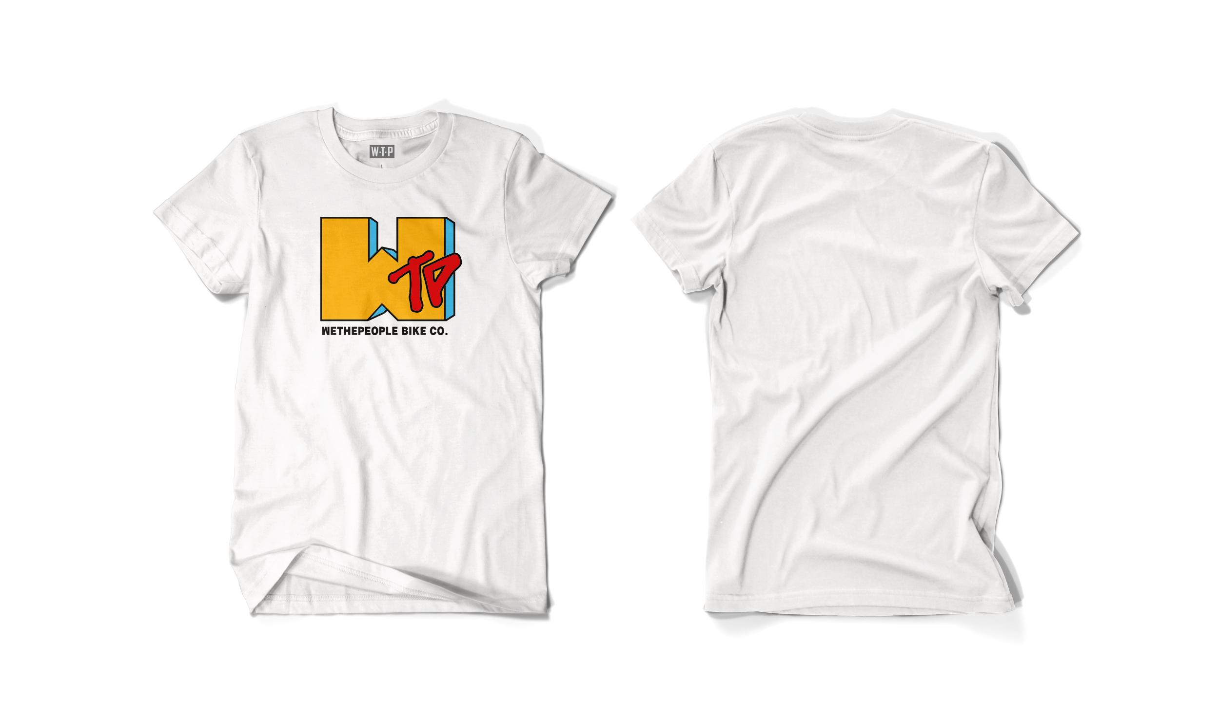 Wethepeople BMX WTV T-Shirt in weiß