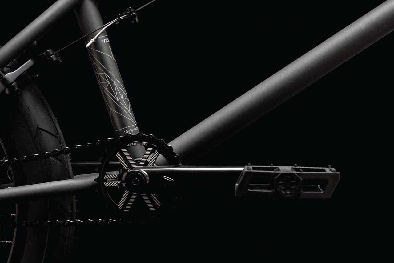 Verde Bikes Regent Cranks aus Chromoly (3-teilig), 170 mm Länge