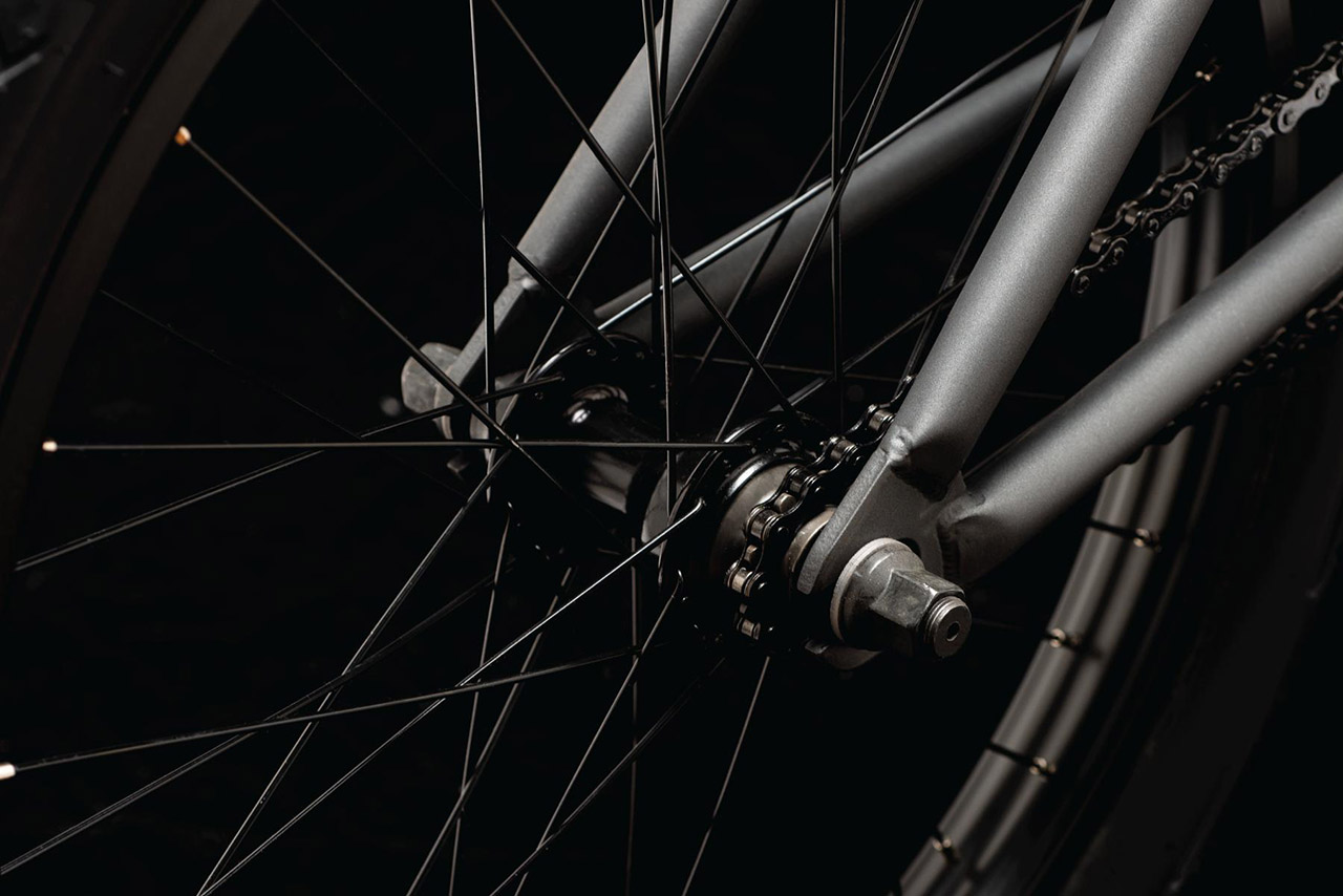 Verde Bikes Neutra Cassette, fully sealed, Aluminium, 14-mm-Achse, 9-Zähne-Driver