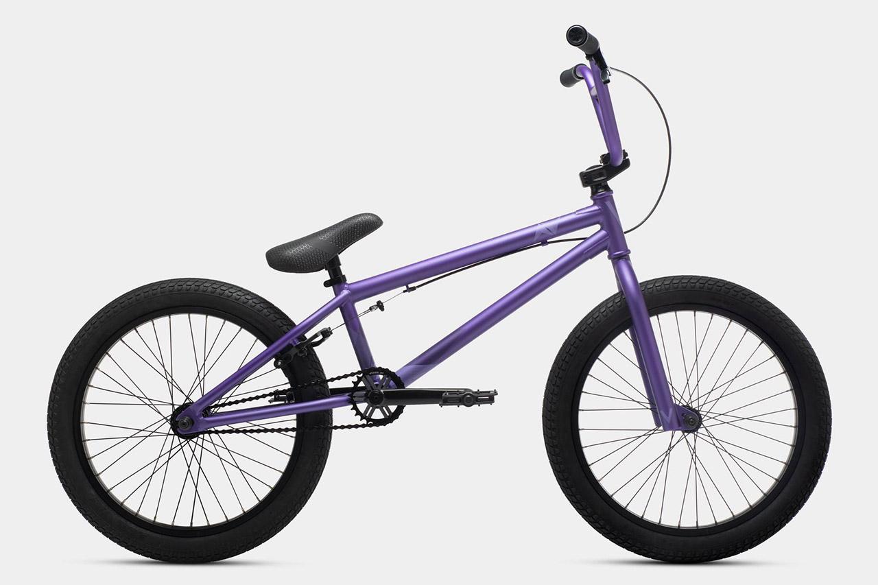 Das Verde Bikes AV in lila