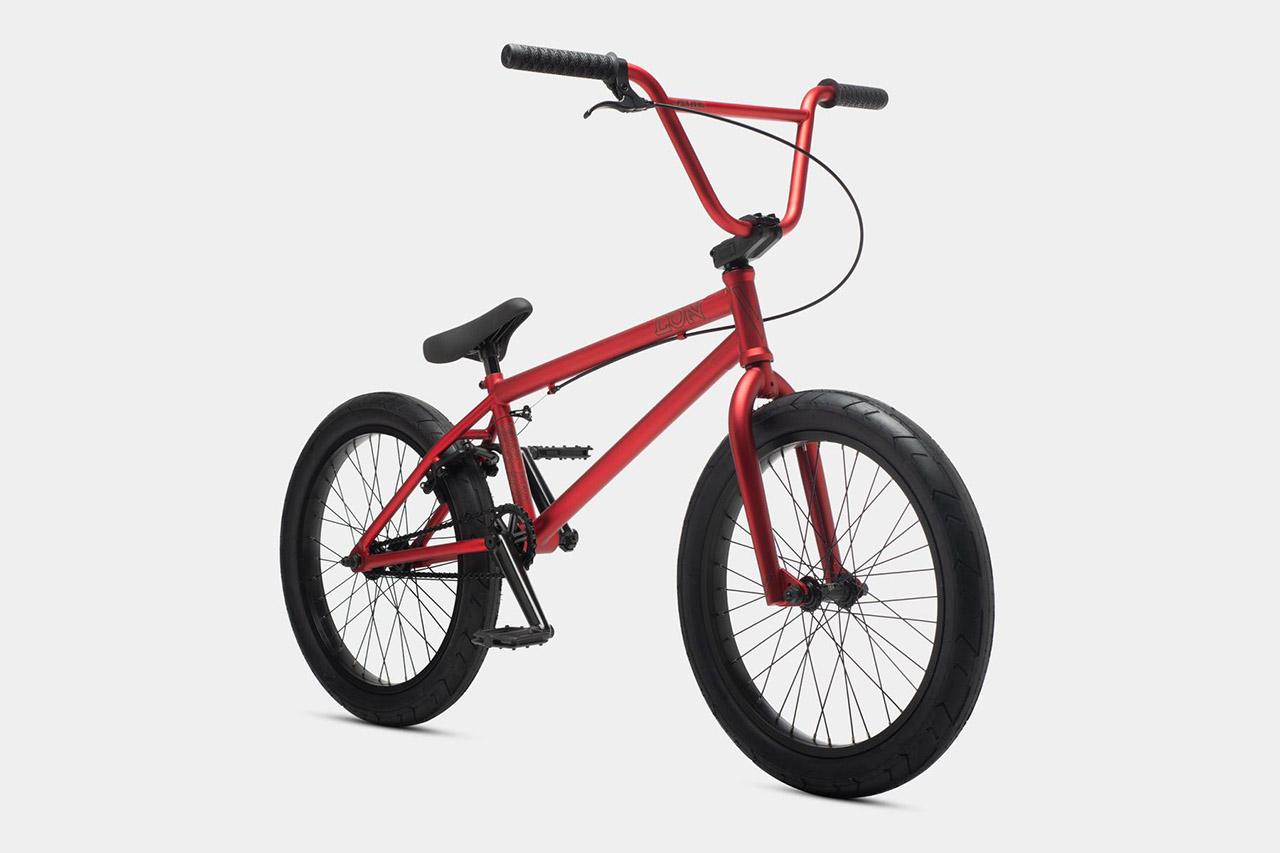 Das Eon von Verde Bikes in rot