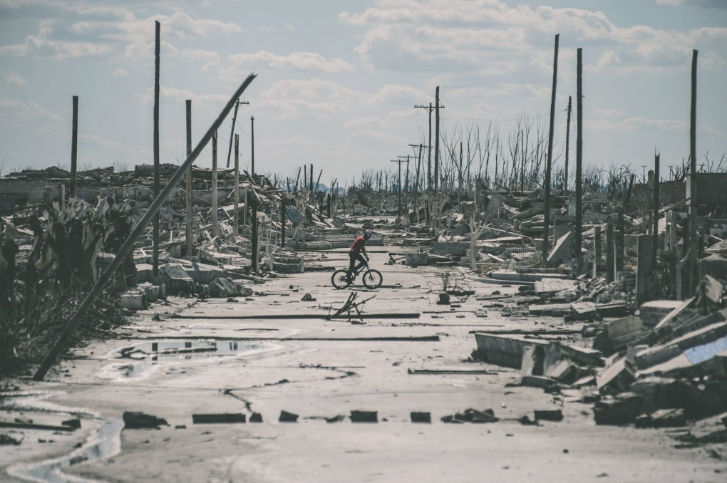 Epecuén - Eine riesige Stadt voller Ruinen