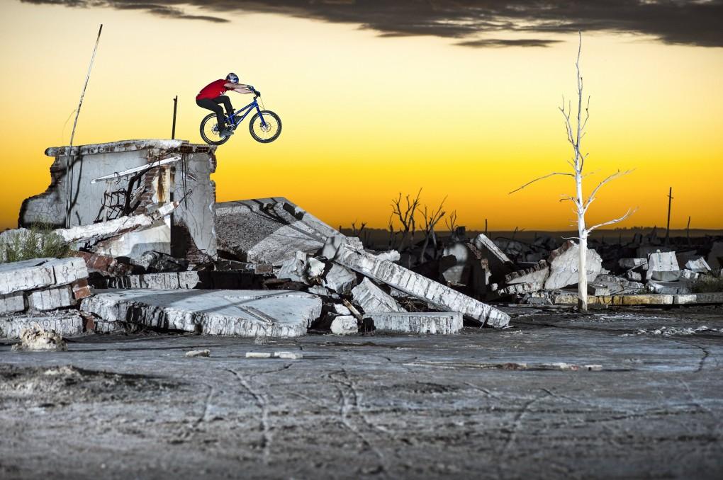 Für die einen sind es Ruinen und Betonreste, für Danny MacAskill der schönste