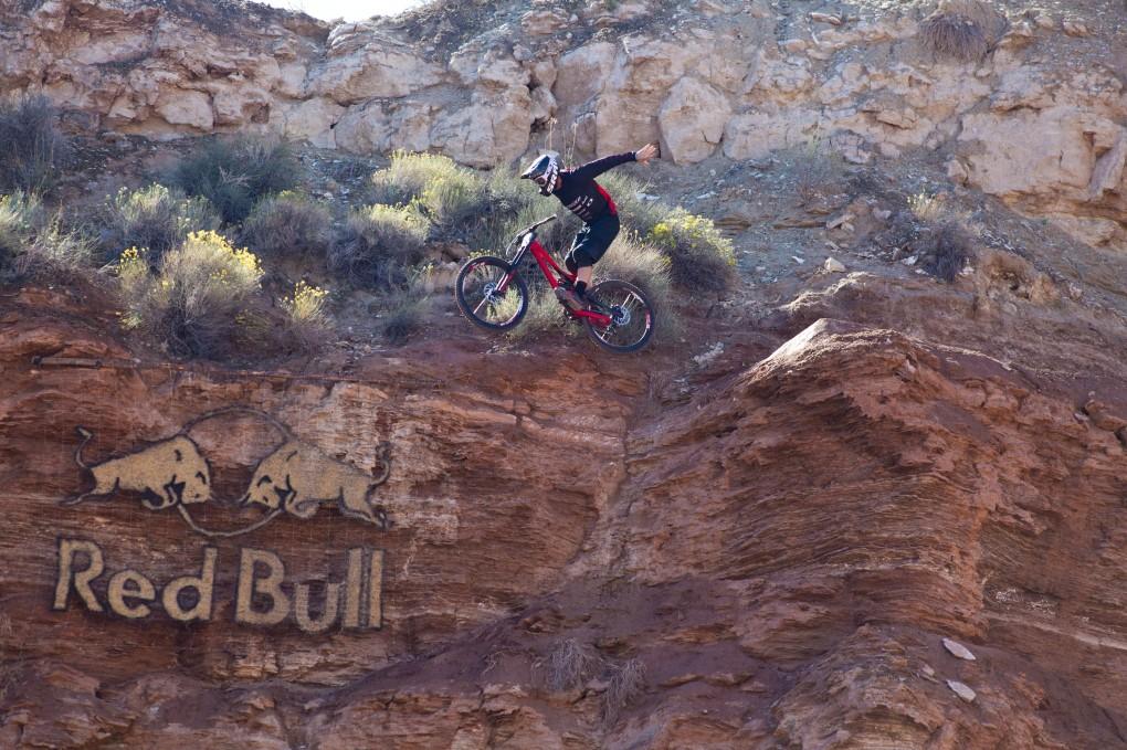 Suicide No Hander von Kyle Norbraten. Der Kanadier belegte mit 82.75 Rang sechs; Foto: Red Bull
