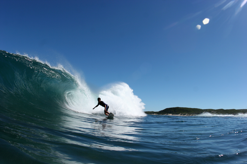 If you're a keen surfer, an Australian gap year is almost definitely for you... Photo: iStock