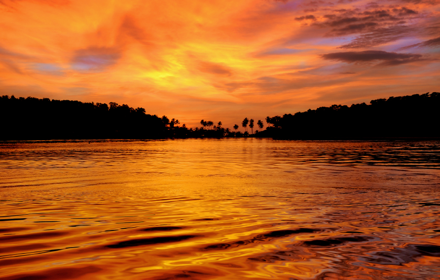 Golden waters in the golden nation... Photo: iStock