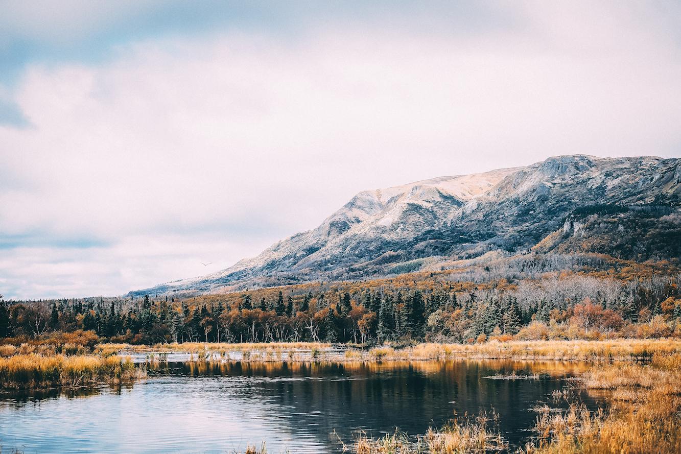 Mick Fanning genoss solche Landschaften in Alaska. Credit: Kirstin Scholtz