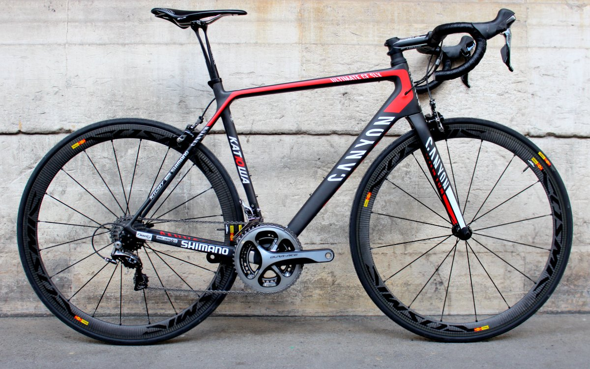 Canyon Ultimate CF SLX - Komplett