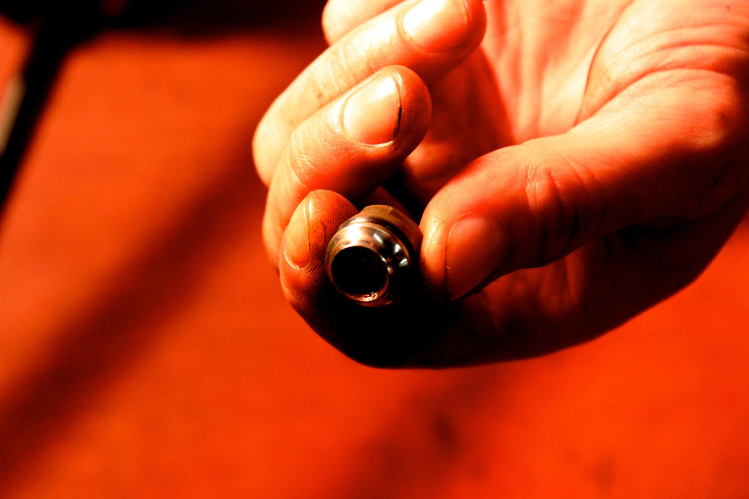 Konus gereinigt Foto: Timothy John, ©Factory Media