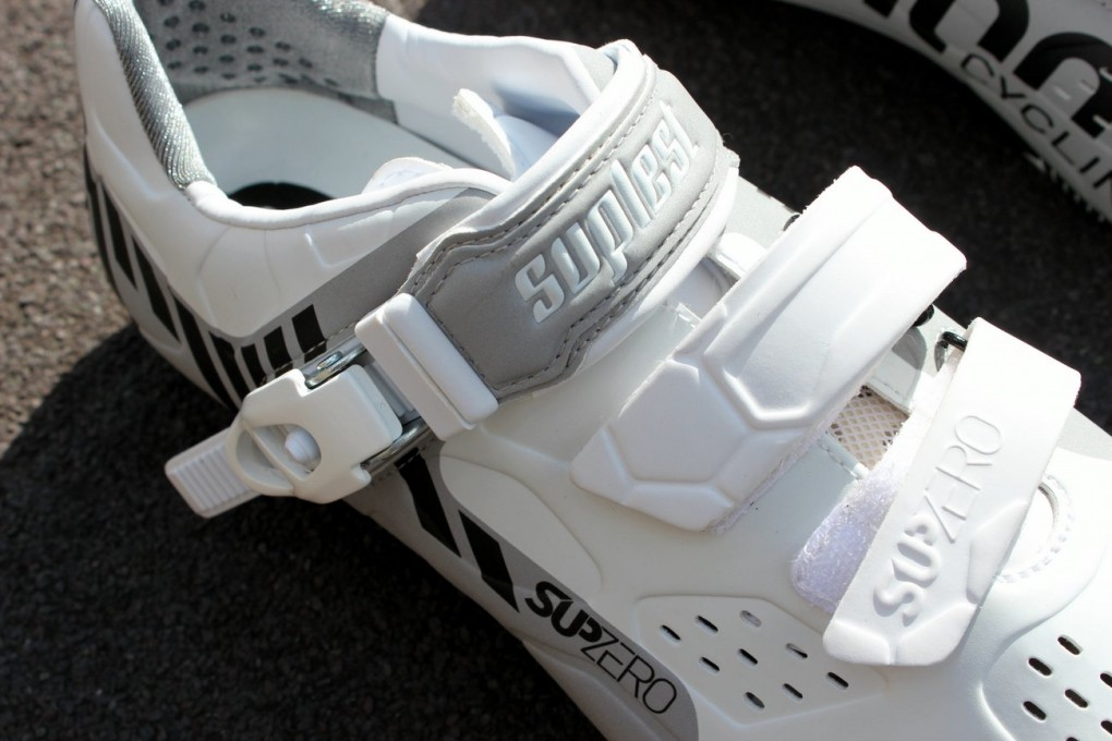 Suplest Street Racing Nylon Buckle cycling shoes (Pic: George Scott/Factory Media)