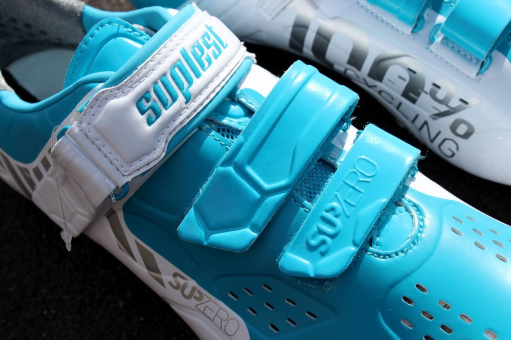 Suplest Street Racing Carbon Velcro cycling shoes (Pic: George Scott/Factory Media)